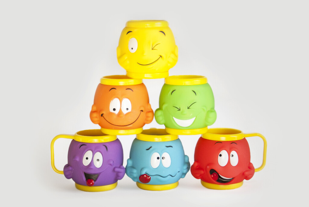 Funny Face Cups